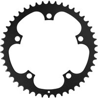 Image of FSA Steel Road Chainring - 46T 130 Black | Chain Rings