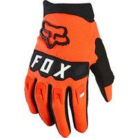 Image of Fox Racing Youth Dirtpaw Race Gloves - YM Fluorescent Orange | Gloves