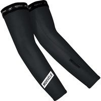 Image of Morvelo Stealth Arm Warmers - L Black/White | Arm Warmers