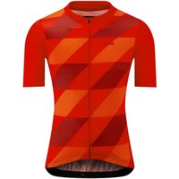 Image of dhb Blok Short Sleeve Jersey - Rapid - Extra Extra Large Red   Jerseys