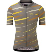 Image of dhb Blok Short Sleeve Jersey - Flow - Extra Extra Large Brown