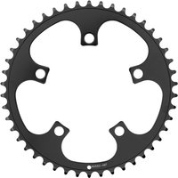 Image of FSA Alloy Road Chainring - 46T 110 Black | Chain Rings