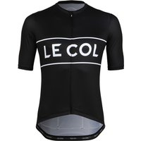 Le Col Sport Heritage Cycling Jersey - M Black/White | Jerseys