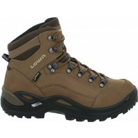 Lowa Womens Renegade Gore-Tex Mid Shoes - UK 5.5 taupe | Boots