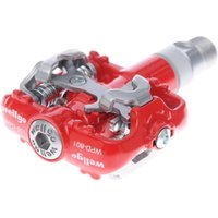 Wellgo WPD801 SPD Compatible Pedals Red