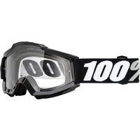 100% Accuri Otg Goggles - Clear Lens - One Size Black/transparent