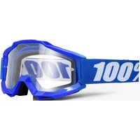 100% Accuri Otg Goggles - Clear Lens - One Size Blue/transparent