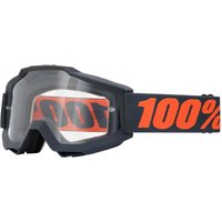 100% Accuri Otg Goggles - Clear Lens - One Size Grey/transparent