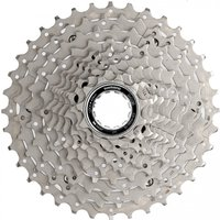 Image of Shimano Deore HG50 10 Speed MTB Cassette - 11-36t 10 Speed Silver