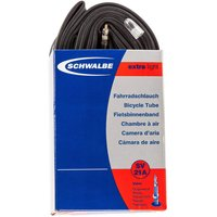 "Image of Schwalbe MTB Extra Light Tube - 26"" 1.5-2.35"" Black / Presta"