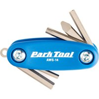 Park Tool Mini Fold-Up Hex/Screwdriver Set AWS-14   Multi Tools