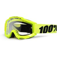 100% Accuri Goggle - Enduro Mtb - One Size Blue/transparent