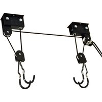 Gear Up Up-And-Away Hoist System   Bike Stands