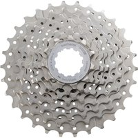 Image of Shimano HG50 8 Speed Road Cassette - 11-28t Silver | Cassettes