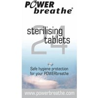 PowerBreathe Cleansing Tablets (24 Pack)   Respiratory Trainers