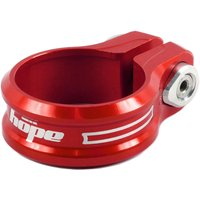 Image of Hope Single Bolt Seat Post Clamp - 30.0mm Red | Seat Post Clamps