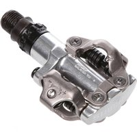 Image of Shimano PD-M520 Pedals - One Size Silver | Clip-in Pedals