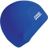 Zoggs Silicone Swimming Cap Baby Blue