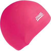 Zoggs Silicone Swimming Cap Pink