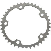 Image of TA 130 PCD Alize Middle Chainring - 38T Silver | Chain Rings