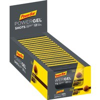 PowerBar PowerGel Shots with Caffeine (16 x 60g)   Bars