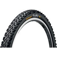 Image of Continental Traffic II Urban Reflex City MTB Tyre - Black - Reflective