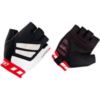 Image of GripGrab WorldCup Short Finger Gloves - Extra Extra Large Red/White