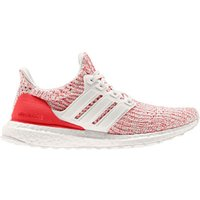 adidas Women's Ultra Boost Running Shoes Chalk White-Red US 7.5-UK 6 White-Red