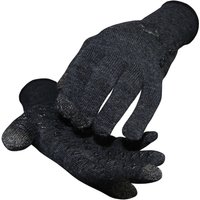 Image of DeFeet E-Touch Dura Wool Gloves - Medium Charcoal   Gloves