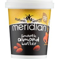 Meridian Smooth Almond Butter (454g Tub)   Nut Butter