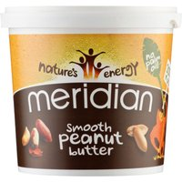 Meridian Natural Peanut Butter (1000g Tub)   Nut Butter