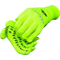 Image of DeFeet E-Touch Reflector Dura Gloves - Medium Fluo Yellow | Gloves