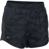 Under Armour Women's fly By Printed Run Short   Shorts