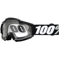 100% Accuri Goggles - Enduro Dual - One Size Black/transparent