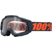 100% Accuri Goggles - Enduro Dual - One Size Grey/transparent