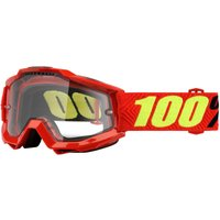 100% Accuri Goggles - Enduro Dual - One Size Multi/transparent