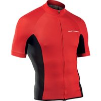 Image of Northwave Force Short Sleeve Jersey - L Red | Jerseys