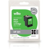 Wilko Remanufactured HP301 Black Ink Cartridge