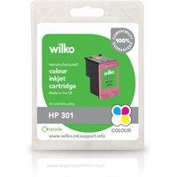 Wilko Remanufactured HP 301 Colour Inkjet Cartridge