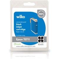 Wilko Remanufactured Epson T0711 Black Inkjet Cartridge