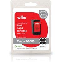 Wilko Remanufactured Canon PG510 Black Inkjet Cartridge