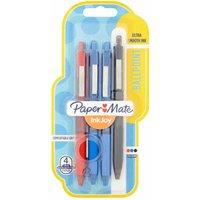 Papermate Inkjoy Ballpoint Pen 300RT STD Medium Nib Assorted Ink 4pk