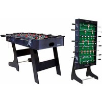 Charles Bentley Premium 4ft Football Gaming Table MDF, Metal