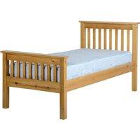 Ville Antique Pine High End Single Bed Frame