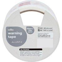 eaa7315287 Wilko Warning Tape Fragile 50mm x 30m