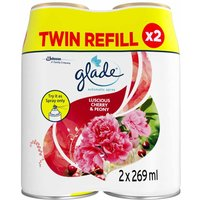 Glade Automatic Spray Twin Refill Cherry and Peony Air
