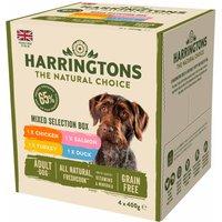 Harringtons Wet Dog Food Variety Pack 4x400g