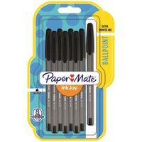 Paper Mate Inkjoy Black Ballpoint Pens 8 pack