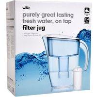 Wilko 2.4L Filter Jug