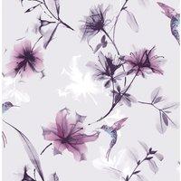 Superfresco Easy Wallpaper XRay Floral Purple